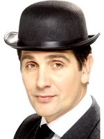 Felt Bowler Hat - Black