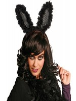 Black Flashing Bunny Ears