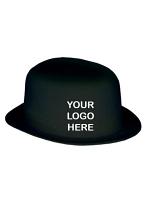 Plastic Bowler Hat Branded