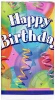 Brilliant Birthday Party Tablecloth