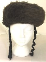 Deluxe Jewish Chassidic Hat - Brown
