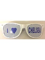 I Love Chelsea Glasses