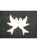 Decoration Love Doves White garland (13ft) (1)