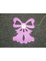 Decoration Wedding Bells Lilac Colour Garland 4m (13ft) (1)
