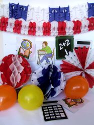 School Days Decoration Pack (1 Box Set)