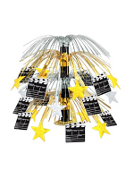 Movie Set Clapperboard Cascade Centrepiece (Quantity 1)