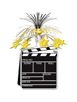 Movie Set Clapperboard Centrepiece (Quantity 1)