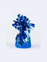 Balloon Weight Foil Wrapped Blue