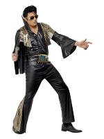 Elvis Black Costume 12345