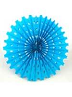 Decoration 'Big Sun' Blue Honeycomb Hanging Fan