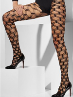 Diamond Net Tights