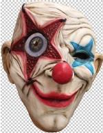 Digital Dudz Clown Star Eye Mask