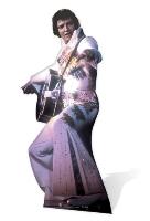 Elvis Anniversary (White) Vegas Cardboard Cutout