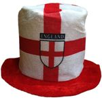 'England' Tall Topper Hat