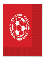 England Football Napkins