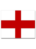 St George Stickers, Red and White, 5 Per Card
