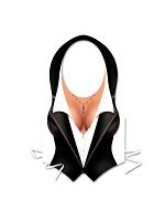 Plastic Female Tux Vest