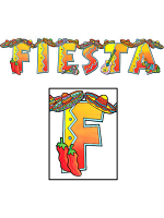 Fiesta Jointed Banner