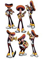 Fiesta Cutouts (6/pkg) (Qty per unit: 1)