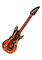 Flame Design Inflatable Guitar