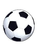 Football Ball Cardboard Cutout