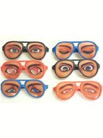 Funny Eye Emotion Glasses
