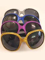 Oversize Glitter Glasses