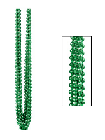 Metallic Green Party Beads