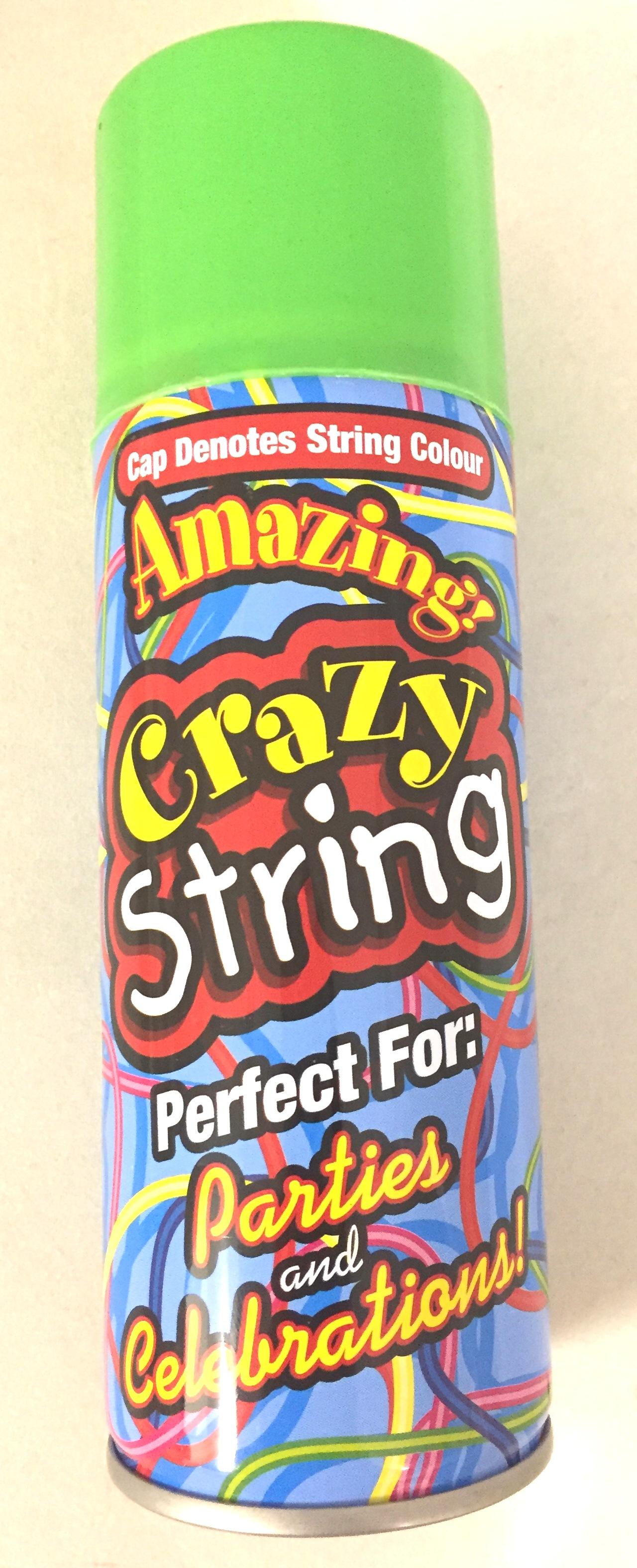 Silly String - Green