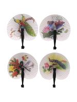 Oriental Hand Held Fans - 1 per order