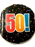 Happy 50th Birthday foil Balloon
