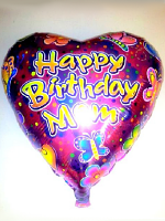Foil Balloon HAPPY BIRTHDAY MOM