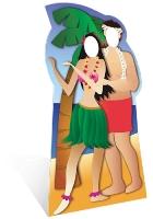 Hawaiian Couple Stand-In NEW