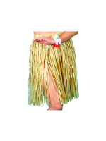 Hawaiian Natural Grass Hula  Skirt
