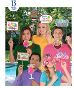 Hawaiian Tiki Photo Booth Kits