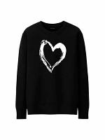 Custom Heart Design Sweatshirt/Hoodie