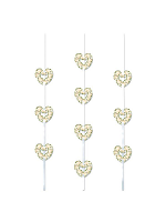 Heart Ribbon String Decoration