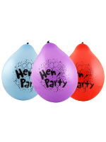 "hen Party 9"" Latex Balloons (10)"