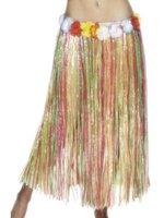 Hawaiian Flower Hula Skirt - 90cms length
