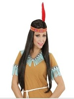 Indian Woman Wig