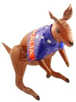 Inflatable Kangaroo Comes With Detachable Australia Flag