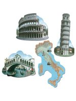 Italian Cutout 40.64cm Printed Both Sides (4 In A Pack)