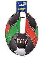 Italy Football Cutout