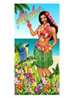 Aloha Girl Door Cover