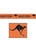 Kangaroo Crossing Poly Decorating Material