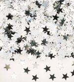 Large Silver Star Confetti 14gm