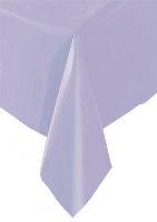 Lavender Plastic Tablecloth 137cm x 274cm