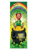 Happy St Patrick's Day Door Cover