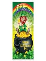 Happy St Patrick's Day Door Cover