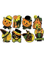 """Pkgd Halloween Cutouts 8½""""-9¼"""""""